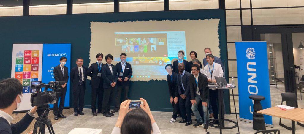 国連プロジェクトサービス機関(UNOPS)のGlobal Innovation Accelerator Programに選抜されました